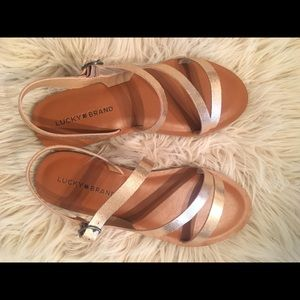 Lucky Brand Alexcia Sandals!